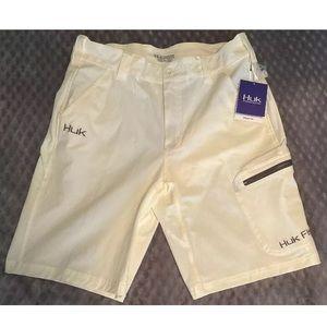 "Huk Performance Fishing Shorts 10.5"" Men's NWT"